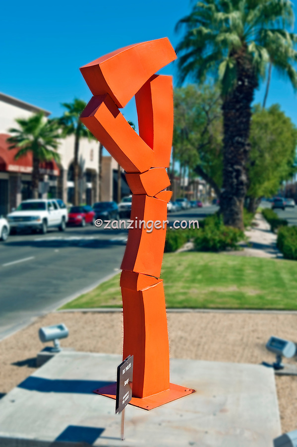 Rik Phillips, Sassy, Palm Desert; CA; El Paseo Drive; art in public places;  art galleries; Art Sculptures; statue-filled; Outdoor,