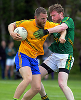 Action from the Irish Fest men's Gaelic Football festival match between Wellington and Hutt Valley at Ian Galloway Park in Wellington, New Zealand on Saturday, 17 November 2018. Photo: Dave Lintott / lintottphoto.co.nz