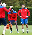 Maurice Edu laughing