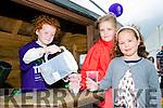 Enjoying the Abbeydorney Vintage rally on Sunday were Hannah O'Connell, Iosa Smith, and Alexa Gadigan