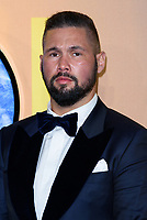 LONDON, ENGLAND - FEBRUARY 8: Tony Bellew arrives at the 'Black Panther' European premiere at the Eventim Apollo, on February 8th, 2018 in London, England. <br /> CAP/JC<br /> &copy;JC/Capital Pictures