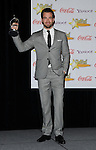 Chris Pine honored with male star of tomorrow at the Showest 2009 Awards held at the Paris Hotel in Las Vegas Nevada, April 2, 2009. Fitzroy Barrett