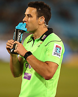 Referee: Ben O'Keeffe (New Zealand) during the Super Rugby match between the Vodacom Bulls and the Jaguares at Loftus Versfeld, Pretoria,South Africa April 15th 2017 Photo by (Steve Haag)