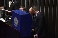BRASÍLIA, DF, 01.02.2017 – PRESIDÊNCIA-SENADO – Votação para presidência do Senado, nesta quarta-feira, 01.  (Foto: Ricardo Botelho/Brazil Photo Press)