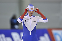 SPEED SKATING: SALT LAKE CITY: 20-11-2015, Utah Olympic Oval, ISU World Cup, 500m, Nadezhda Aseyeva (RUS), ©foto Martin de Jong