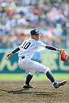 Keiji Takahashi (Ryukoku-Dai Heian),<br /> APRIL 2, 2014 - Baseball :<br /> 86th National High School Baseball Invitational Tournament final game between Ryukoku-Dai Heian 6-2 Riseisha at Koshien Stadium in Hyogo, Japan. (Photo by Katsuro Okazawa/AFLO)