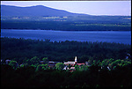 The town of Knowlton and Lac Brome in the Eastern Townships of Quebec.