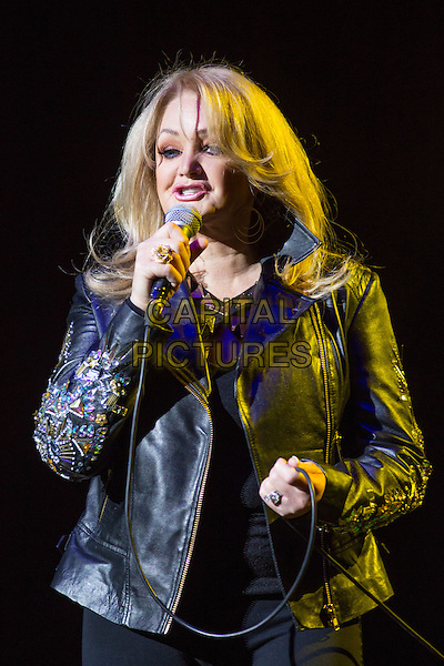 MOSCOW, RUSSIA, JANUARY 31:  Bonnie Tyler in concert, January 31st, 2014 in Moscow, Russia. <br /> CAP/PER/PK<br /> &copy;PK/PersonaStars/CapitalPictures