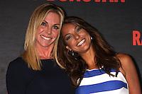 """LOS ANGELES - JUL 9:  Cindy Ambuehl, Eva LaRue at the """"Ray Donovan"""" Season 2 Premiere Party at the Nobu Malibu on July 9, 2014 in Malibu, CA"""