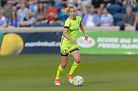Chicago, IL - Sunday Sept. 04, 2016: Beverly Yanez during a regular season National Women's Soccer League (NWSL) match between the Chicago Red Stars and Seattle Reign FC at Toyota Park.
