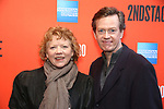 """Becky Ann Baker and Dylan Baker attending the Broadway Opening Night Performance of  """"Lobby Hero"""" at The Hayes Theatre on March 26, 2018 in New York City."""