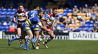 Warrington Wolves' Daryl Clark <br /> <br /> Photographer Stephen White/CameraSport<br /> <br /> Rugby League - Coral Challenge Cup Sixth Round - Warrington Wolves v Wigan Warriors - Sunday 12th May 2019 - Halliwell Jones Stadium - Warrington<br /> <br /> World Copyright © 2019 CameraSport. All rights reserved. 43 Linden Ave. Countesthorpe. Leicester. England. LE8 5PG - Tel: +44 (0) 116 277 4147 - admin@camerasport.com - www.camerasport.com