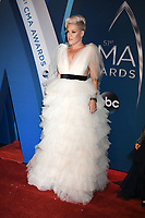 08 November 2017 - Nashville, Tennessee - Pink, Alecia Moore. 51st Annual CMA Awards, Country Music's Biggest Night, held at Music City Center. <br /> CAP/ADM/LF<br /> &copy;LF/ADM/Capital Pictures