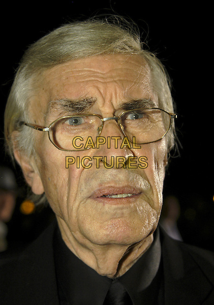 "MARTIN LANDAU.At ""The Aryan Couple"" UK Film Premiere,.Odeon West End,London, England, .October 10th 2006..portrait headshot glasses funny.Ref: IA.www.capitalpictures.com.sales@capitalpictures.com.©Ian Allis/Capital Pictures"