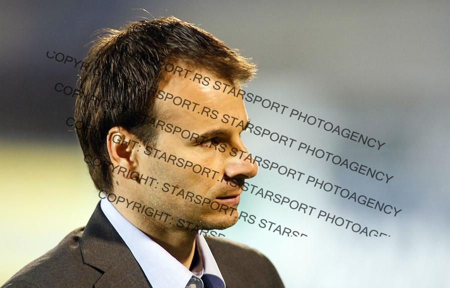 Fudbal, Jelen super liga, sezona 2009/2010.Partizan Vs. Rad.Head coach Aleksandar Stanojevic.Beograd, 18.04.2010..foto: Srdjan Stevanovic/Starsportphoto ©