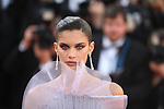Cannes Film Festival 2017 - Day 4. Sara Sampaio is seen on the Red Carpet during the 70th edition of the 'Festival International du Film de Cannes' on 20/05/2017 in Cannes, France. The film festival runs from 17 to 28 May.