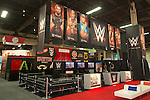 2015 WWE Licensing Show Booth photos