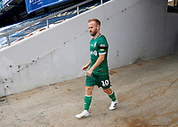 11th July 2020; The Kiyan Prince Foundation Stadium, London, England; English Championship Football, Queen Park Rangers versus Sheffield Wednesday; Barry Bannan of Sheffield Wednesday walking towards the pitch from the away tunnel before kick off