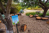 Welcome to Judy Adler no summer water drought tolerant sustainable demonstration garden, Walnut Creek, California