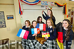 Presentation Secondary Tralee Language week. Pictured l-r Caoimhe Tobin, Michelle Doody, Rebecca Poultney, Áine Rice, Tara Foran and Jennifer Hanafin