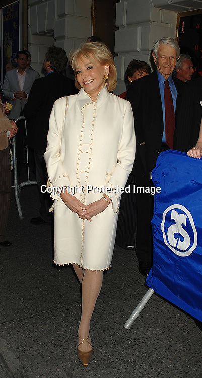 """Barbara Walters ..arriving for The Broadway Opening Night of """"Frost/Nixon""""..on April 22, 2007 at The Bernard B Jacobs Theatre. ..Robin Platzer, Twin Images"""