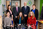Pictured at Kerry Local Enterprise Office at Kerry County Council Buildings, Rathass, Tralee.<br /> Front from Left: Leanne Chapman, Brid Bowler and Fiona Leahy. Back from left: Eilish O'Donoghue, Victor Sheehan, Tomás Hayes and  Margaret Murphy