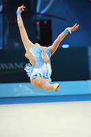 August 28, 2013 - Kiev, Ukraine - Valeska Gonzalez Olivares of Chile performs at 2013 World Championships.