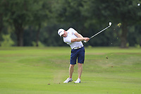 Cathal Butler (Kinsale) on the 16th during the AIG Barton Shield Munster Final 2018 at Thurles Golf Club, Thurles, Co. Tipperary on Sunday 19th August 2018.<br /> Picture:  Thos Caffrey / www.golffile.ie<br /> <br /> All photo usage must carry mandatory copyright credit (© Golffile   Thos Caffrey)