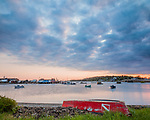 Sunrise on Bailey's Island in Harpswell, Maine, USA