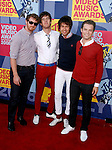 LOS ANGELES, CA. - September 07: Musicians Locksley arrive at the 2008 MTV Video Music Awards at Paramount Pictures Studios on September 7, 2008 in Los Angeles, California.