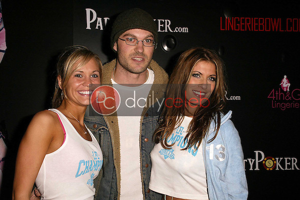 Jennifer Birmingham, Brian Austin Green and Debra Stone