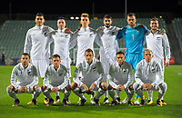 The All Whites pose for a team photo before the first leg of FIFA World Cup Russia 2018 qualifying football match between the New Zealand All Whites and Solomon Islands at QBE Stadium in Albany, New Zealand on Friday, 1 September 2017. Photo: Dave Lintott / lintottphoto.co.nz