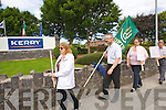 Pictured are former workers of BCD Travel who exclusively managed the travel for Kerry Group headquarters, Princes Quay, Tralee on Thursday.