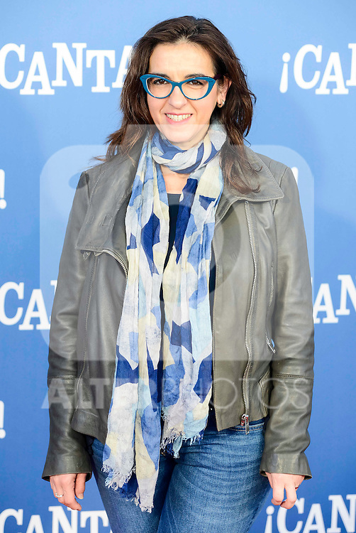 "Llum Barrera attends to the premiere of the film ""¡Canta!"" at Cines Capitol in Madrid, Spain. December 18, 2016. (ALTERPHOTOS/BorjaB.Hojas)"