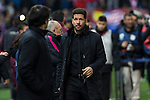 Atletico de Madrid's coach Diego Pablo Cholo Simeone during the match of La Liga between Atletico de Madrid and Real Madrid at Vicente Calderon Stadium  in Madrid , Spain. November 19, 2016. (ALTERPHOTOS/Rodrigo Jimenez)