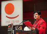 Berlin-Germany - May 19, 2014 -- International Trade Union Confederation - 3rd ITUC World Congress 'Building Workers' Power'; here, Sharan Burrow, ITUC-General Secretary -- Photo: © HorstWagner.eu / ITUC