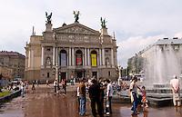 Old Kiev Opera threatre, Lviv, Ukraine