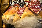 Aged Ham, Franchi Supermarket, Rome, Italy