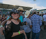 Jolene and James Patrick during the Dustin Lynch Concert at the Reno Rodeo on Wednesday, June 14, 2017.