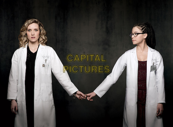 Evelyne Brochu, Tatiana Maslany<br /> in Orphan Black (Season 2)<br /> *Filmstill - Editorial Use Only*<br /> CAP/FB<br /> Image supplied by Capital Pictures