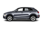 Car driver side profile view of a 2016 Audi Q3  2.0T-FWD-tiptronic-Premium-Plus  5 Door SUV