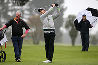 Harry Bateman during Jennian Homes Charles Tour, John Jones Steel Harewood Open, Harewood Golf Course, Christchurch, New Zealand, Thursday 5 October 2017.  Photo: Martin Hunter/www.bwmedia.co.nz