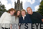 The St Johns crew in Listowel - l-r Colleen.McGinty, Marie Dillon, (youth theatre),.Eileen Broderick (tourist office) and Joe Murphy.(manager).