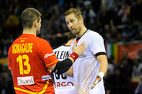 23.01.2013 World Championshio Handball. Match between Spain vs Germay at the stadium Principe Felipe. The picture show  Julen Aguinagalde Akizu (Pivot of Spain).