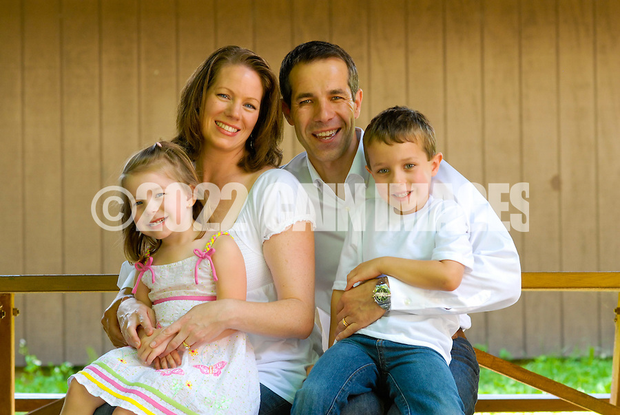 NEWTOWN, PA - JUNE 8: The Gargalovic family is photographed June 8, 2012 in Newtown, Pennsylvania. (Photo by William Thomas Cain/Cain Images)