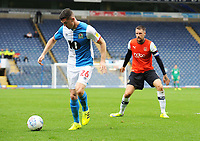 Blackburn Rovers' Darragh Lenihan<br /> <br /> Photographer Kevin Barnes/CameraSport<br /> <br /> The EFL Sky Bet Championship - Blackburn Rovers v Luton Town - Saturday 28th September 2019 - Ewood Park - Blackburn<br /> <br /> World Copyright © 2019 CameraSport. All rights reserved. 43 Linden Ave. Countesthorpe. Leicester. England. LE8 5PG - Tel: +44 (0) 116 277 4147 - admin@camerasport.com - www.camerasport.com