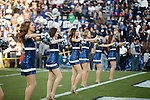 1310-77 319<br /> <br /> 1310-77 Cheer Squad Action, Cougarettes in line, pom pons, smiling, field<br /> <br /> October 25, 2013<br /> <br /> Photo by Mark A. Philbrick/BYU<br /> <br /> &copy; BYU PHOTO 2013<br /> All Rights Reserved<br /> photo@byu.edu  (801)422-7322