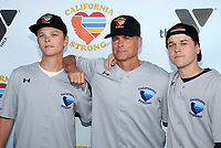 MALIBU, CA - JANUARY 12: Rob Lowe, John Owen Lowe, Matthew Edward Lowe, at the 2nd Annual California Strong Celebrity Softball Game at Pepperdine University Baseball Field in Malibu, California on January 12, 2020. <br /> CAP/MPIFS<br /> ©MPIFS/Capital Pictures