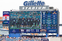 Yale defeats UAlbany 20-11 in the NCAAA semifinal game at Gillette Stadium, May 26.