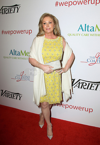 BEVERLY HILLS, CA - MAY 12: Kathy Hilton attends the AltaMed Power Up, We Are The Future Gala at the Beverly Wilshire Four Seasons Hotel on May 12, 2016 in Beverly Hills, California. Credit: Parisa/MediaPunch.
